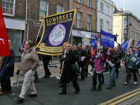 Teachers demo in Taunton