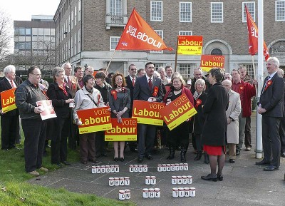 Labour launches their bid to win seats at the County Council (2017)