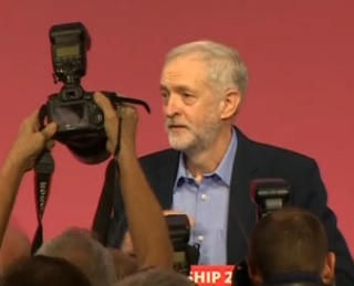 With 60% of the vote Jeremy Corbyn wins the Labour leadership election on the first vote.
