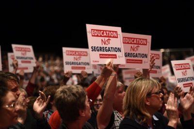 """Education Not Segregation"""